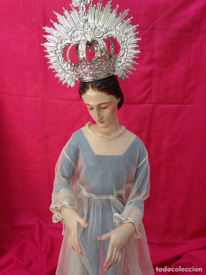 Arte: Virgen de vestir siglo XIX - Foto 21 - 91814495