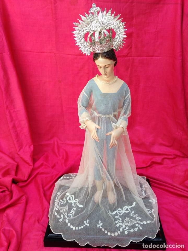Arte: Virgen de vestir siglo XIX - Foto 22 - 91814495