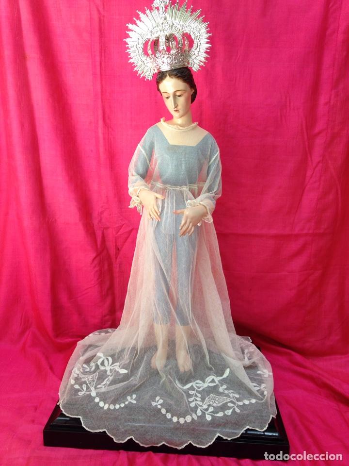 Arte: Virgen de vestir siglo XIX - Foto 23 - 91814495