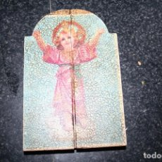 Art: ANTIGUO TRIPTICO VIRGEN. Lote 91850505