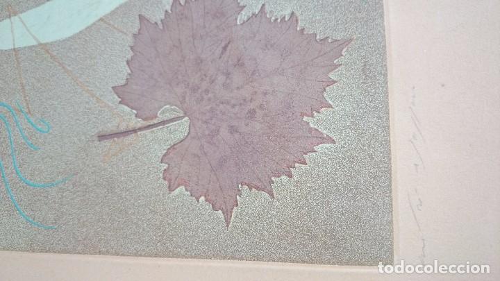 Arte: André Masson grabado original, La mantis religiosa, 1955 63x45 cm. Firmado/numerado 50 ejemplares - Foto 4 - 92247765