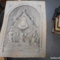 Arte: CREO LITOGRAFIA PONE COPIA DE LA PRODIGIOSA IMAGEN DE MARIA SANTISIMA QUE SE VENERA EN SITGES VI. Lote 92433075