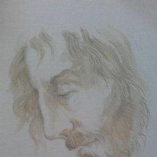 Arte: APUNTE ROSTRO DE CRISTO. Lote 92446050