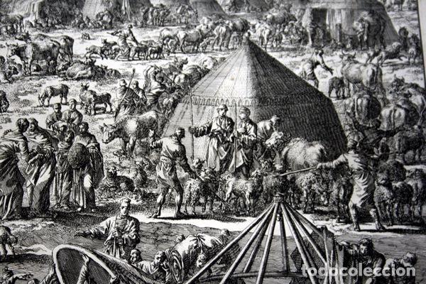 Arte: 1729 -GRABADO BIBLIA - ABRAHAM y LOT se separan - Luyken - GRABADO - 58x52cm - Covens et Mortier - Foto 6 - 67320753