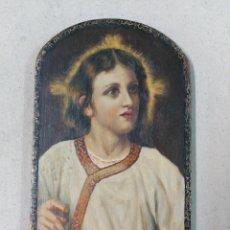 Arte: OLEO SOBRE TABLA NIÑO JESUS. FIN S XIX - PPIOS S XX. Lote 92896770