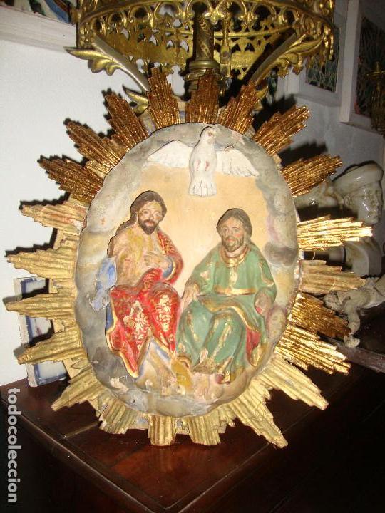 TALLA DE RETABLO SIGLO XVII (Arte - Arte Religioso - Retablos)