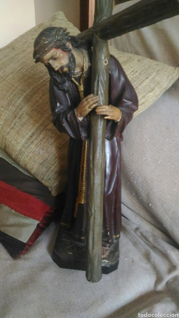 TALLA POLICROMADA (Arte - Arte Religioso - Escultura)