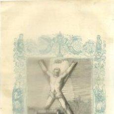 Arte: LITOGRAFIA RELIGIOSA: SAN SERAPIO MARTIR G-REL-268. Lote 94108735
