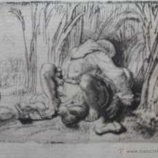 Arte: EL MONJE EN EL CAMPO - REMBRANDT. Lote 94444246