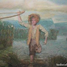 Arte: IMPRESIONANTE CUADRO TECNICA MIXTA RELIEVE HONDERO PREHISTORICO MALLORQUIN 1.700,00 €. Lote 94688455