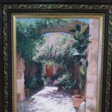 Arte: IMPRESIONANTE CUADRO OLEO PINTURA MALLORQUINA FIRMADO AGUILAR CABALLERO VENTA DIRECTA 3230. Lote 94692763