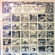 Arte: AUCA DE NURIA. PAPEL IMPRESO. ESPAÑA. CIRCA 1930. Lote 94804263