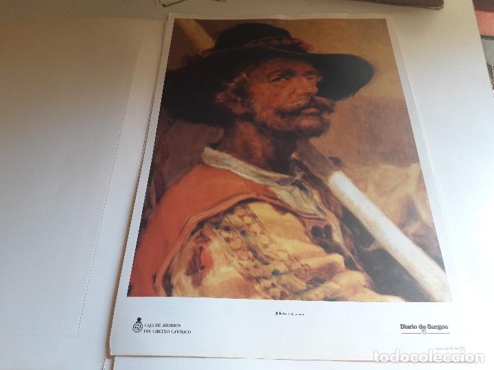 Arte: CARPETA CONTENIENDO CINCO REPRODUCCIONES DE ROMAN GARCIA... - Foto 4 - 94933155