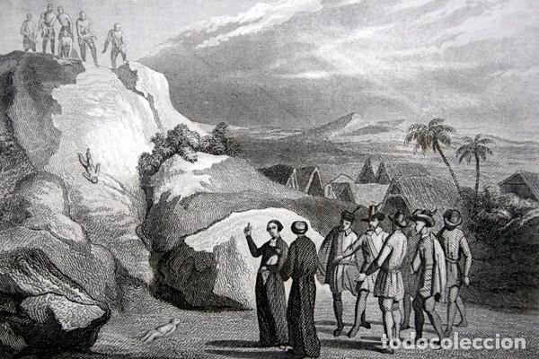 Arte: 1863 - GRABADO - IMMOLACION DE NINOS EN GUACHETA - COLOMBIA - 178x121mm - - Foto 2 - 95196579