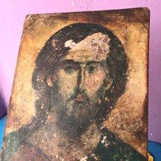 Arte: TABLA CON IMAGEN DE CRISTO - ICONO. Lote 95217275