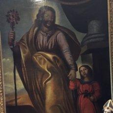 Arte: SAN JOSÉ OLEO SIGLO XVIII GRANDES MEDIDAS. Lote 35855873