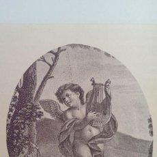 Arte: ANTIGUOS GRABADOS SIGLO XVII, ANGELES MUSICALES FIRENZE, FLORENCIA, ITALY. Lote 95365895