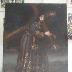 Arte: OLEO SOBRE LIENZO SIGLO XVIII N.P.J NAZARENO. Lote 95960643