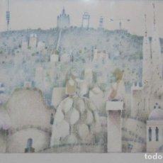 Arte: LITOGRAFÍA BARCELONA, FIRMADA F. TODÓ .. Lote 96152783
