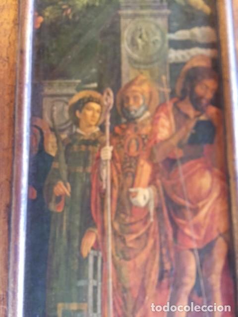 Arte: Precioso gran retablo imágenes religiosas - Foto 5 - 96301079