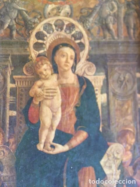 Arte: Precioso gran retablo imágenes religiosas - Foto 6 - 96301079