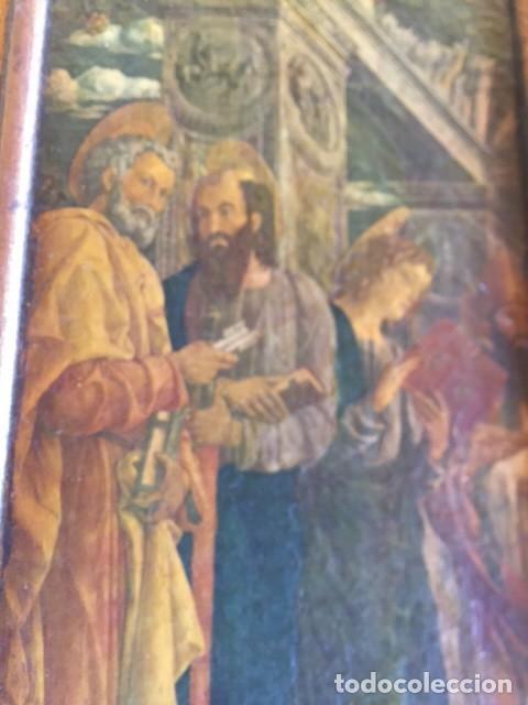 Arte: Precioso gran retablo imágenes religiosas - Foto 7 - 96301079