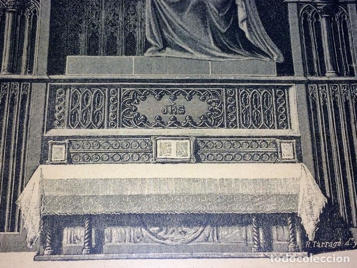 Arte: SANTO CRISTO DE LEPANTO. INDULGENCIAS. LITOGRAFIA. TARRAGÓ. ESPAÑA. XIX - Foto 5 - 96605599