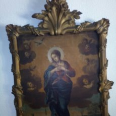 Arte: INMACULADA SIGLO XVIII, OLEO SOBRE LIENZO.. Lote 96663639