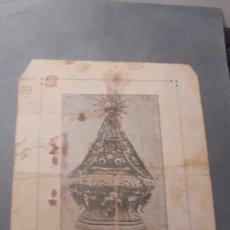 Arte: GOIGS DE LA MARE DE DÉU DE NURIA IMP. LIB. RELIGIOSA - 4 PAG. 22,5X16 CM. SEÑALESDE USO Y MANCHAS. Lote 97192947