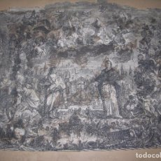 Arte: (F.1) GRABADO CON ESCENA RELIGIOSA. Lote 97201587