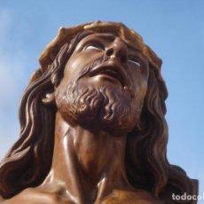 Arte: SANTA AGONIA DE JESUS, CRISTO DE LIMPIAS PASTA DE OLOT 83CM. Lote 97272943