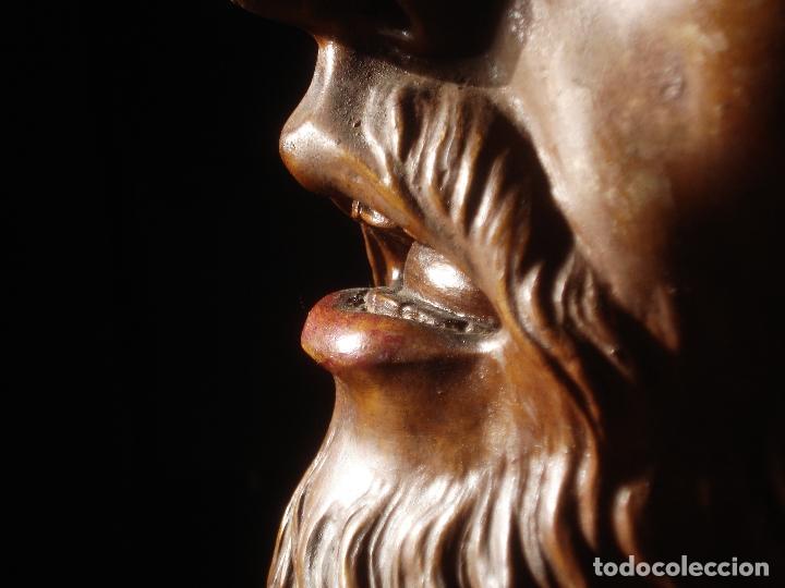 Arte: SANTA AGONIA DE JESUS, CRISTO DE LIMPIAS PASTA DE OLOT 83CM - Foto 5 - 97272943