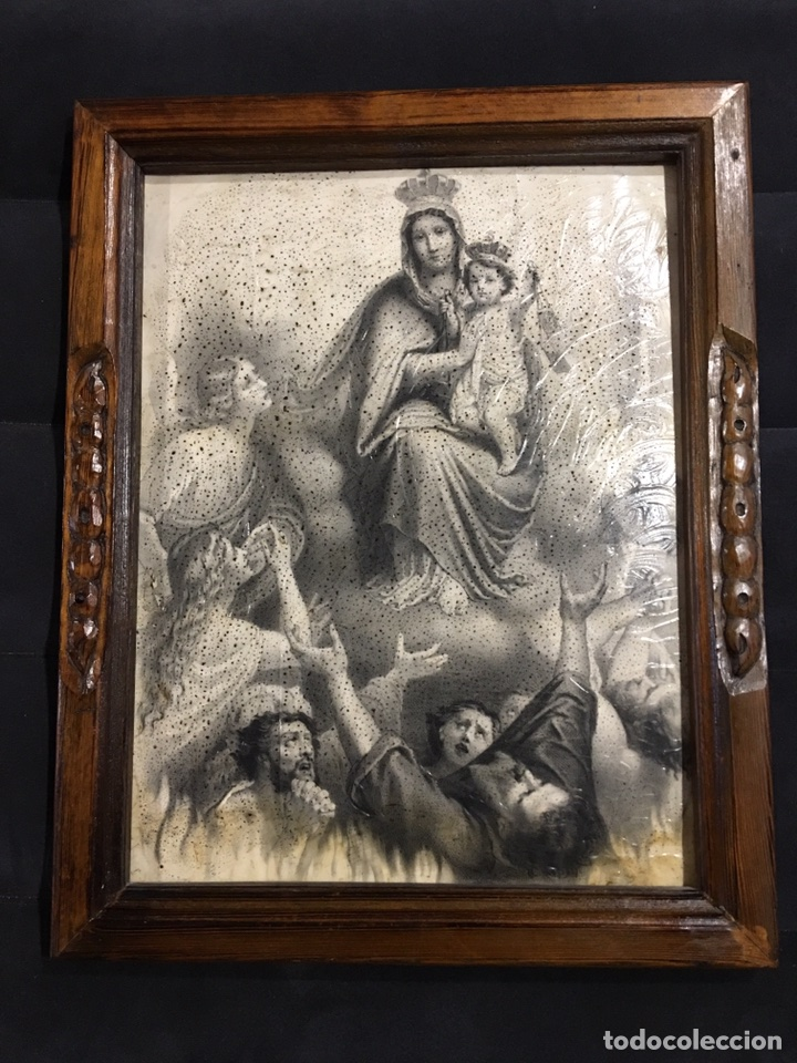 GRABADO LITOGRÁFICO - L. TURGIS - PARÍS - FINALES XIX/PRINCIPIOS XX (Arte - Arte Religioso - Grabados)