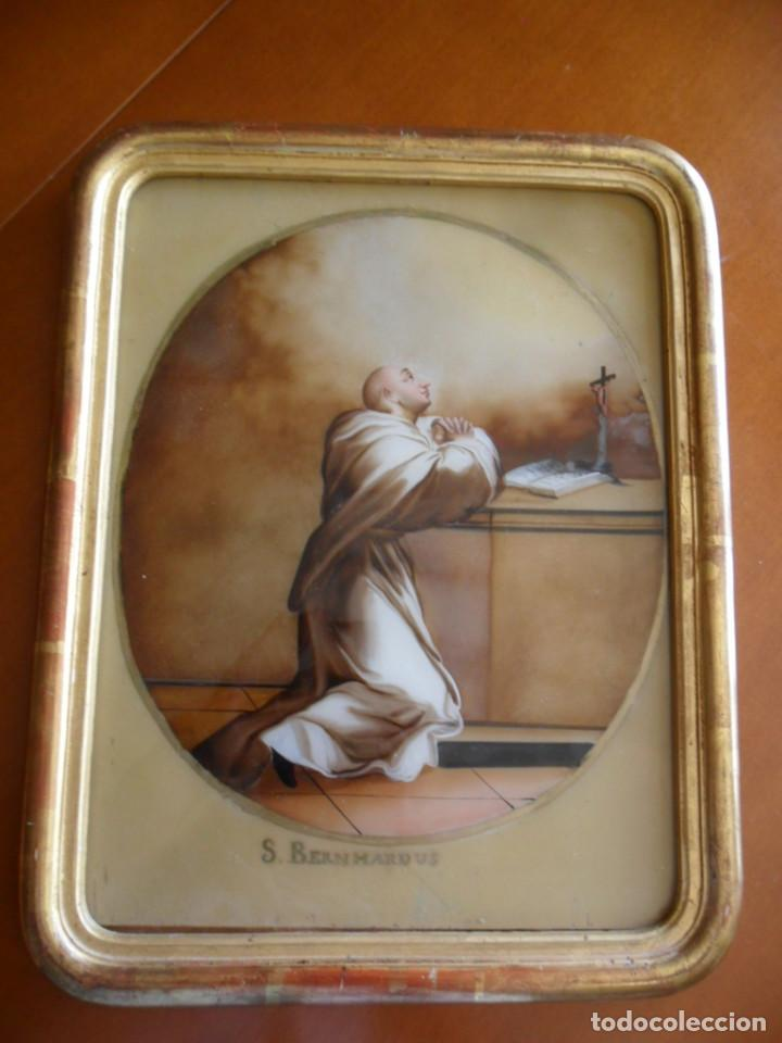 pintura sobre vidrio - cristal - siglo xviii - - Comprar Pintura ...