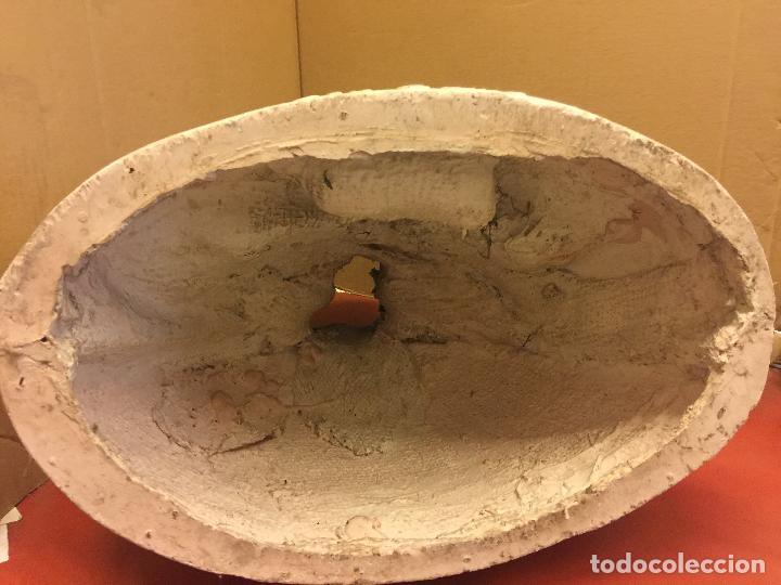 Arte: Espectacular imagen SANTA GEMA Gran tamaño. Sello Taller de la Concepcion Estatuaria Olot. Leer mas - Foto 7 - 97671307