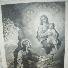 Arte: LAMINA ANTIGUA SAN IGNACIO LOYOLA. Lote 97858127