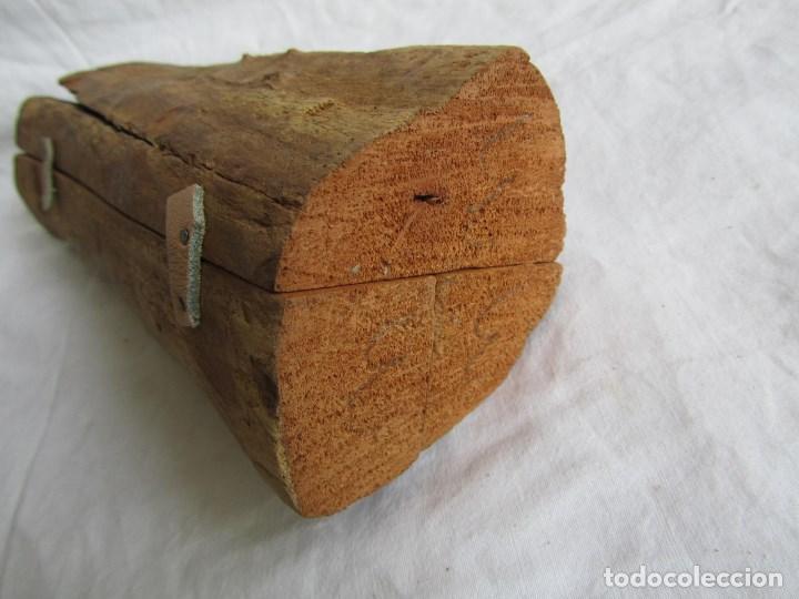 Arte: Tríptico fabricado en una sóla pieza de madera tallada - Foto 11 - 97866711