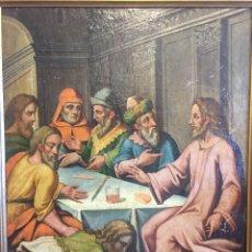 Arte: CUADRO RELIGIOSO. ÓLEO SOBRE LIENZO. 105 CM X 83 CM. SIGLO XVII - XVIII. Lote 97915023