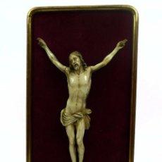 Arte: CRISTO - TALLA DE MARFIL - PRINCIPIOS SIGLO XIX ESCUELA ESPAÑOLA. Lote 98159491