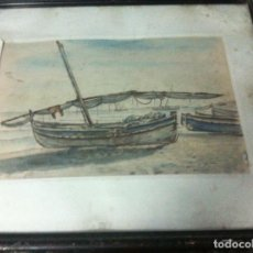 Arte: PRECIOSA ACUARELA FIRMADA . Lote 98683091