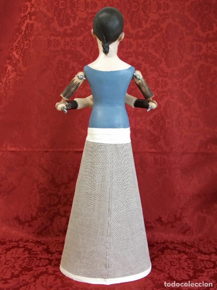 Arte: Virgen dolorosa de vestir, de candelero - Foto 8 - 97723459