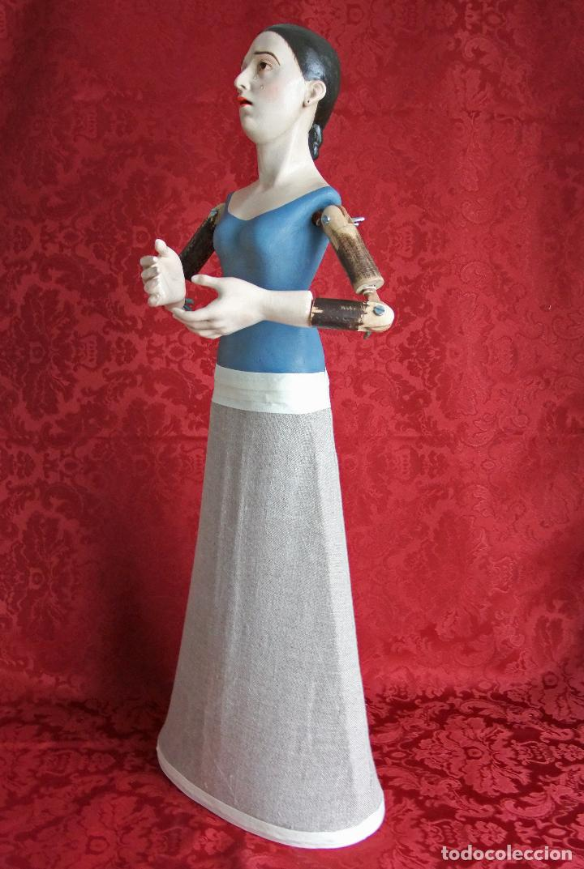 Arte: Virgen dolorosa de vestir, de candelero - Foto 9 - 97723459