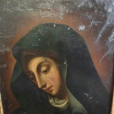 Arte: ESC. ITALIANA, S. XVIII, SEGUIDOR DE CARLO DOLCI (FLORENCIA 1616-1686): VIRGEN DOLOROSA. Lote 98947534