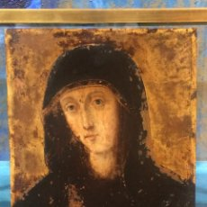Arte: OLEO SOBRE COBRE VIRGEN MARIA SIGLO XVII. Lote 98954816