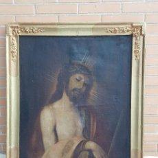 Arte: ECCE HOMO. ÓLEO SOBRE LIENZO. SIGLO XVII.. Lote 98991991