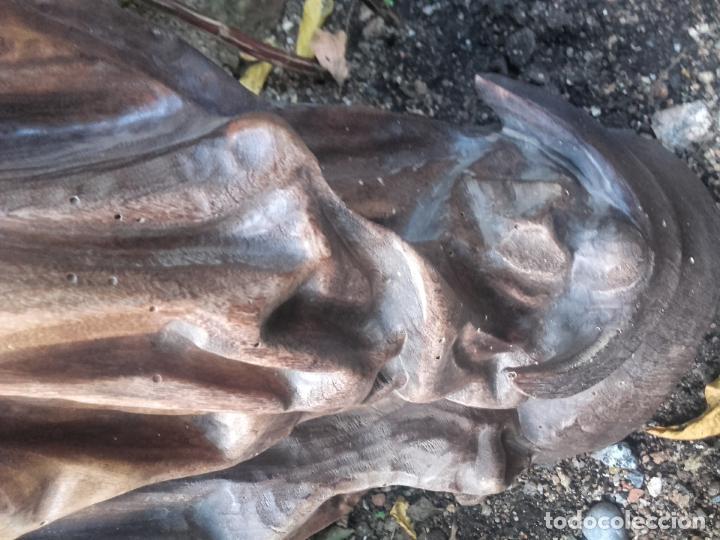 Arte: Virgen madera tallada - Foto 11 - 56227490