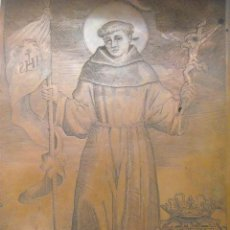 Arte: PLANCHA DE COBRE GRABADO DE SAN JUAN DE CAPISTRANO MILAN SIGLO XVII CAPITÁN DE LOS TERCIOS ESPAÑOLES. Lote 99402067