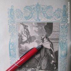 Arte: KK - GRABADO ORIGINAL DEL AÑO 1851 - RELIGIOSO - SAN JUAN DE LA CRUZ CONFESOR. Lote 99430403