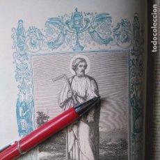 Arte: KK - GRABADO ORIGINAL DEL AÑO 1851 - RELIGIOSO - SANTO TOMAS APOSTOL . Lote 99432599