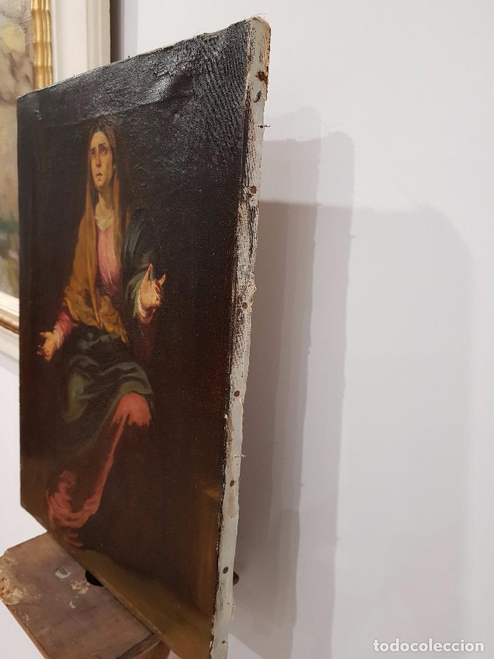 Arte: Copia antigua de la Dolorosa de Murillo - Foto 3 - 98811567